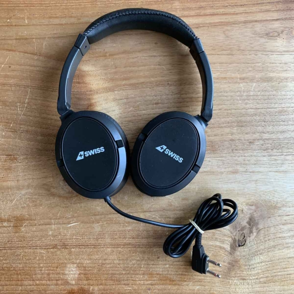 Swiss First headphone for sale.